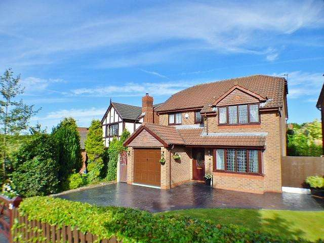 4 Bedrooms Detached House for sale in Broadfields, Norton, Runcorn