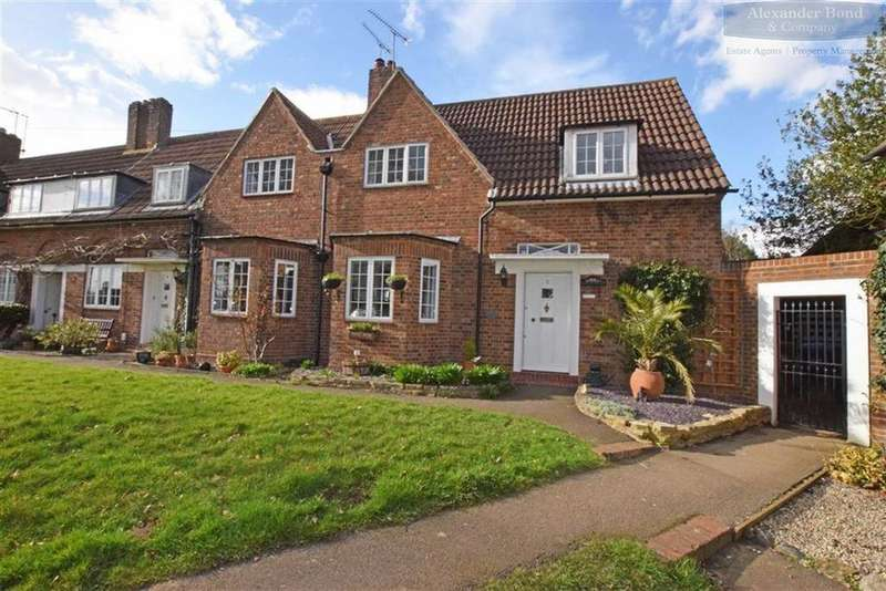 2 Bedrooms End Of Terrace House for sale in Brocket Close, Welwyn Garden City, Herts, AL8