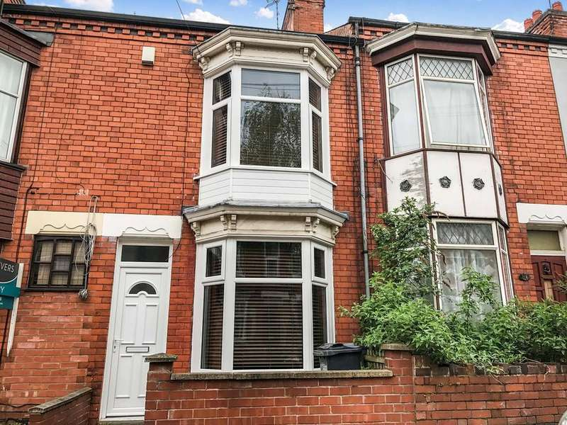2 Bedrooms Terraced House for sale in Barclay Street, Leicester, LE3