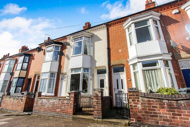 3 Bedrooms Terraced House for sale in Hopefield Road, Leicester, LE3