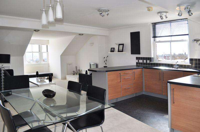2 Bedrooms Penthouse Flat for sale in Polsloe, Exeter