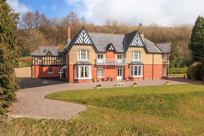 10 Bedrooms Detached House for sale in Llystroiddyn, Pumsaint, Nr Lampeter, Carmarthenshire, SA19