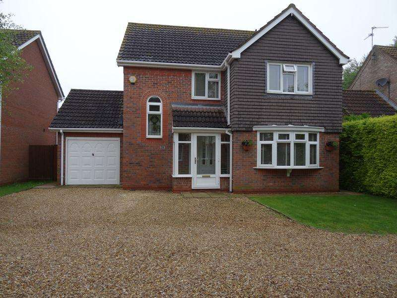 3 Bedrooms Detached House for sale in Wedgewood Drive, Spalding