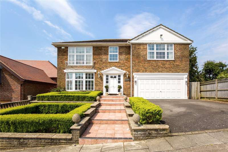 5 Bedrooms Detached House for sale in Downside, Hove, East Sussex, BN3