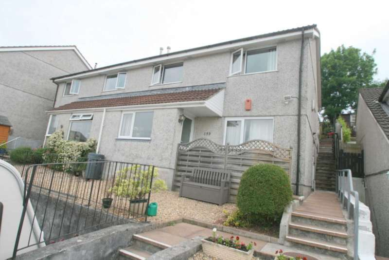 2 Bedrooms Maisonette Flat for sale in Elford Crescent, Plympton