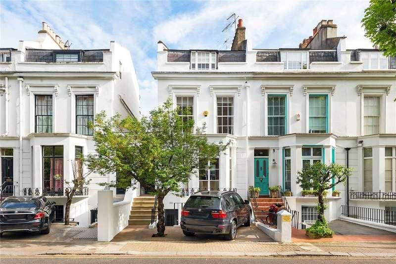 5 Bedrooms End Of Terrace House for sale in Abingdon Villas, Kensington, London, W8