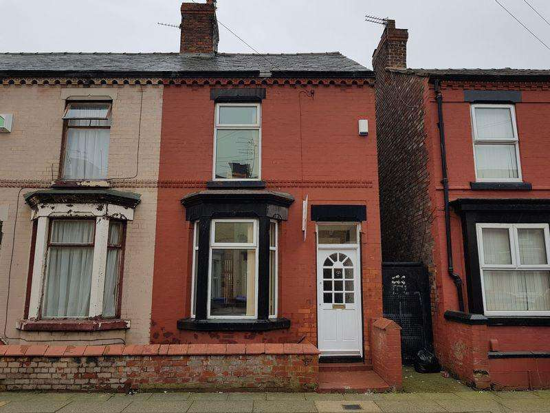 2 Bedrooms End Of Terrace House for sale in 80 July Road, Liverpool