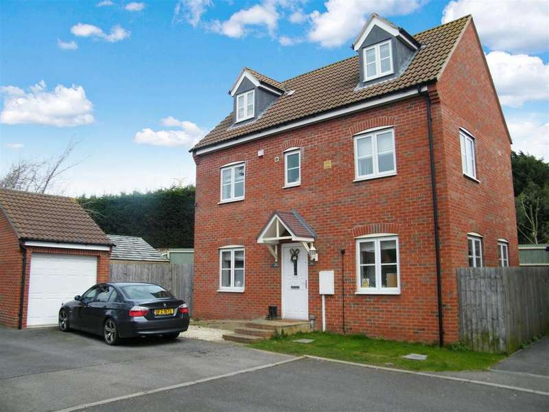 4 Bedrooms Detached House for sale in Thorneydene Gardens, Grantham