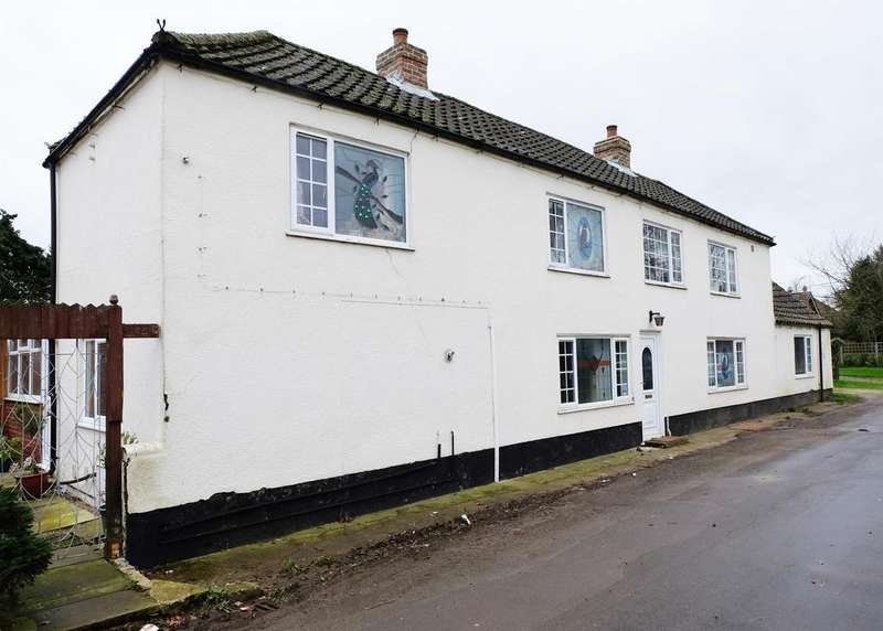 4 Bedrooms Detached House for sale in North Road, Tetford, Horncastle, LN9 6QH