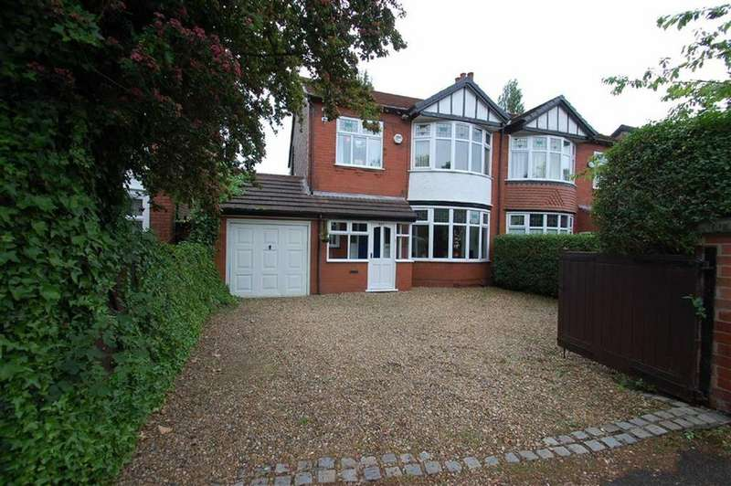 3 Bedrooms Semi Detached House for sale in Bramhall Lane, Davenport, Cheshire