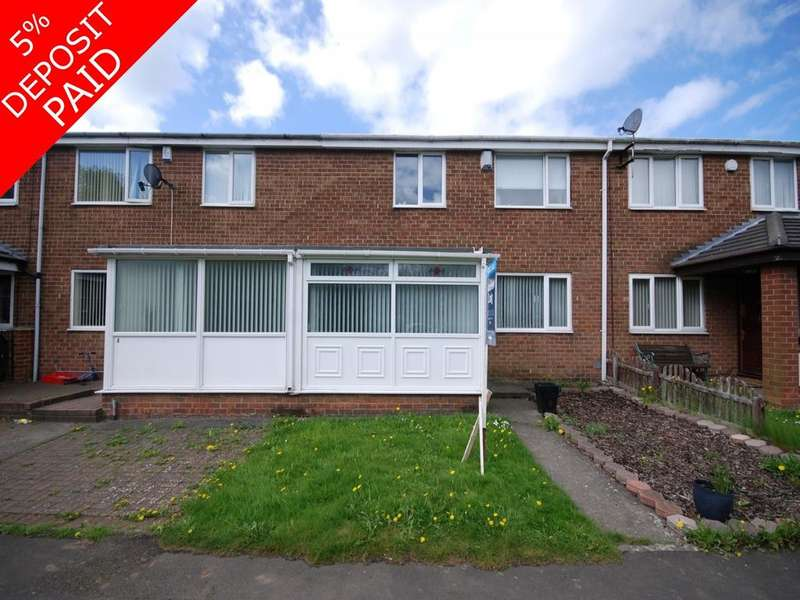 3 Bedrooms Terraced House for sale in Fellside, Birtley