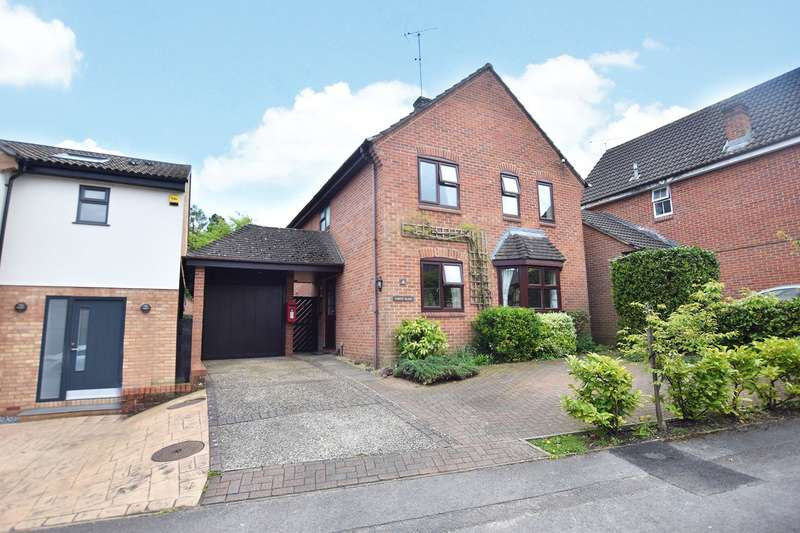 4 Bedrooms Detached House for sale in Popham Close, Bracknell, Berkshire, RG12