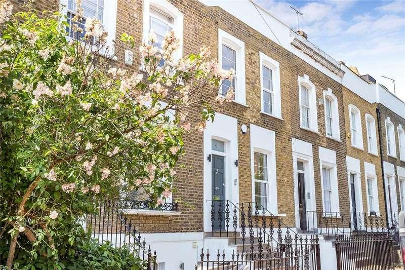 4 Bedrooms Terraced House for sale in Wolsey Road, London, N1