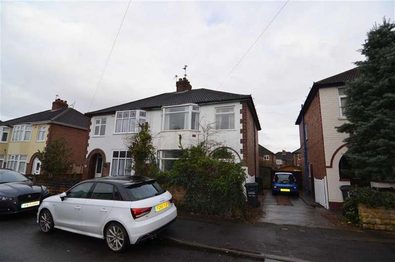 3 Bedrooms Semi Detached House for sale in Holmfield Avenue, Loughborough, Leicestershire