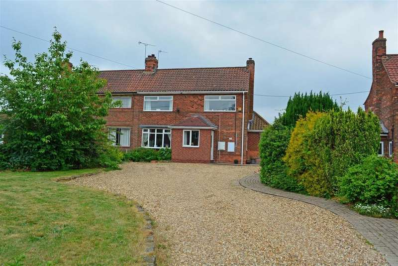 3 Bedrooms Semi Detached House for sale in Sands Lane, Gainsborough