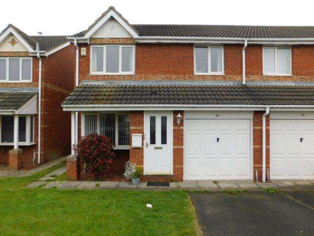 3 Bedrooms Semi Detached House for sale in HABGOOD DRIVE, NEW ACRES, DURHAM CITY