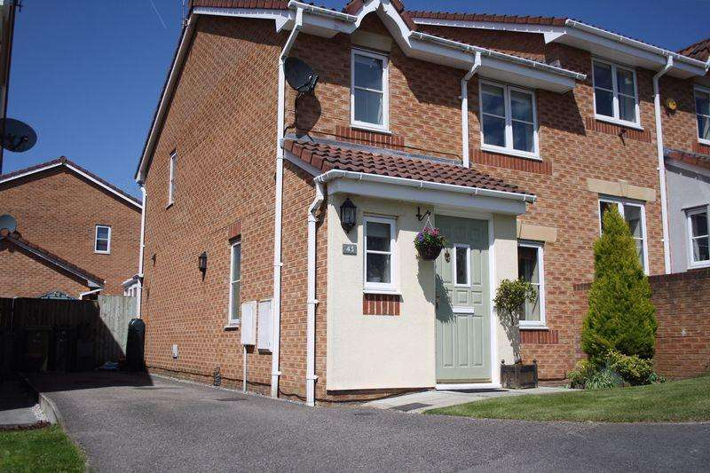 4 Bedrooms Semi Detached House for sale in Burnside Way, Northwich, CW8 4XR