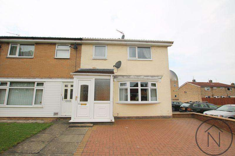 3 Bedrooms Semi Detached House for sale in St Barbaras Walk, Newton Aycliffe
