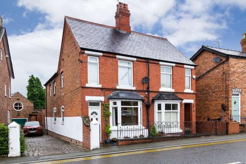 3 Bedrooms Semi Detached House for sale in 14 Nantwich Road, Tarporley, CW6 9UW