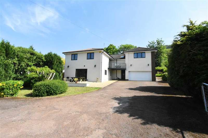 5 Bedrooms Detached House for sale in The Willows, Wyesham Road, Wyesham, Monmouth