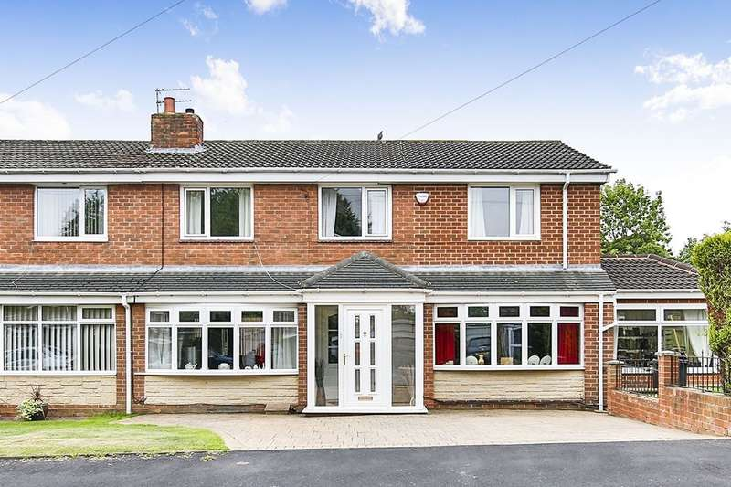 4 Bedrooms Semi Detached House for sale in Hollycrest, Chester Le Street, DH2