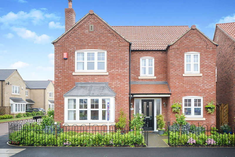 4 Bedrooms Detached House for sale in Rutland Avenue, Waddington, Lincoln, LN5