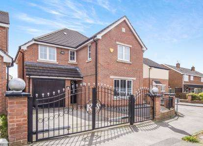 4 Bedrooms Detached House for sale in Nursery Road, Leicester, Leicestershire
