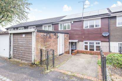 3 Bedrooms Terraced House for sale in Rannoch Close, Leicester, Leicestershire
