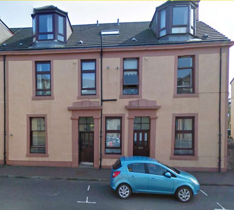 2 Bedrooms Ground Flat for sale in Glasgow Street, Ardrossan KA22