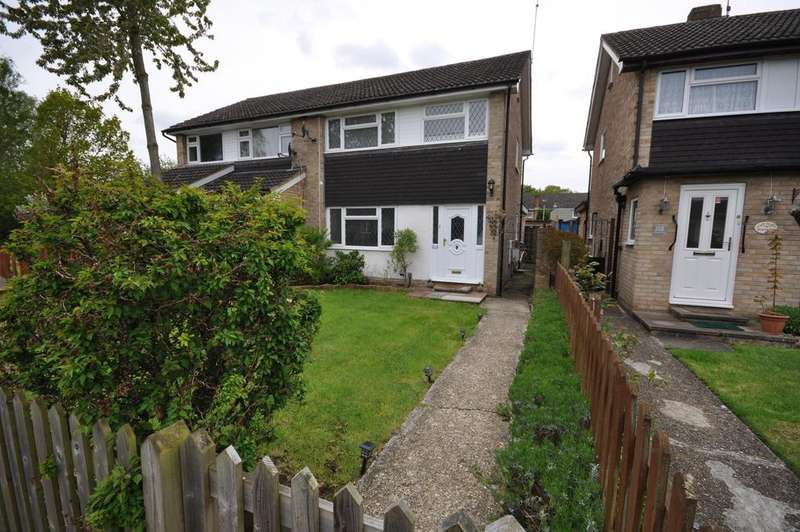 3 Bedrooms Semi Detached House for sale in Kingfisher Drive, Woodley, Reading, RG5 3LH