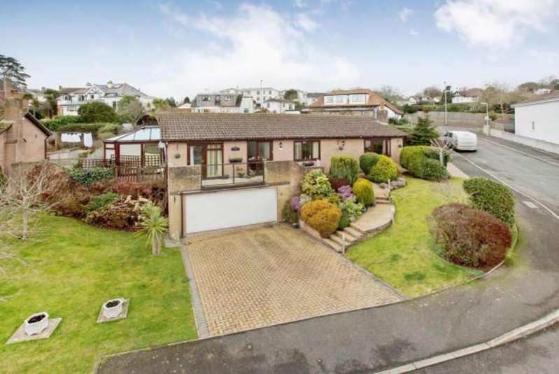 4 Bedrooms Detached Bungalow for sale in Cedar Close, Teignmouth, TQ14 8UZ