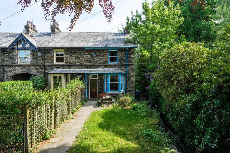 2 Bedrooms End Of Terrace House for sale in 13 Park Road, Windermere, Cumbria, LA23 2AW