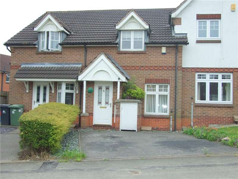 2 Bedrooms Town House for sale in Brookfield Way, Heanor, Derbyshire, DE75