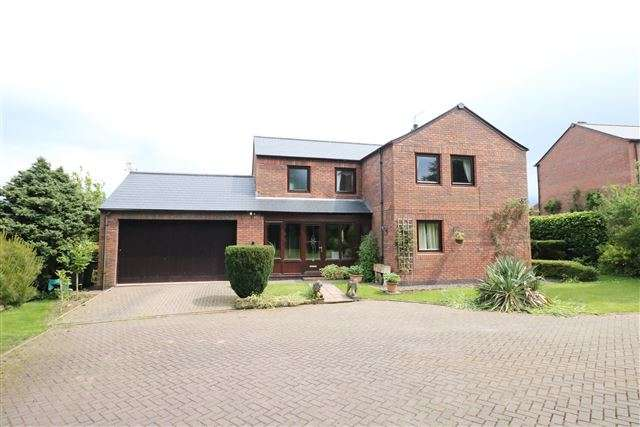 4 Bedrooms Detached House for sale in The Orchard, Great Corby, Carlisle, Cumbria, CA4 8LS