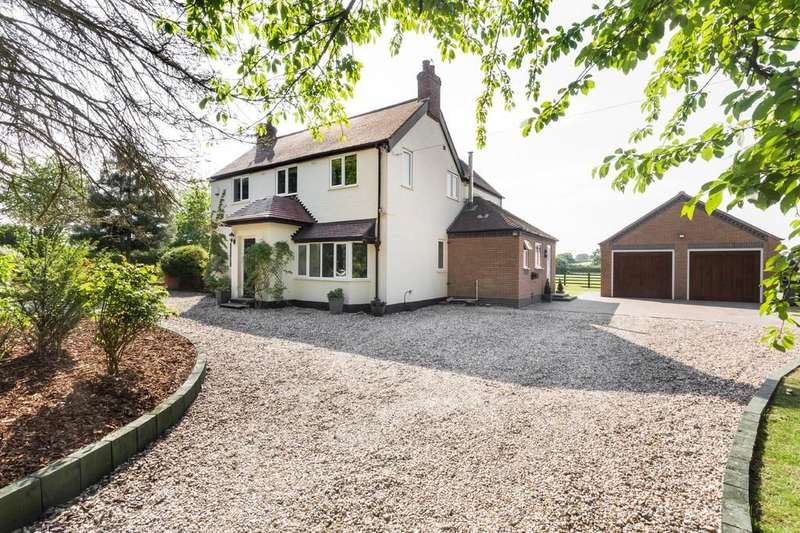 4 Bedrooms Detached House for sale in Hay Lane, Longdon Green, Staffordshire