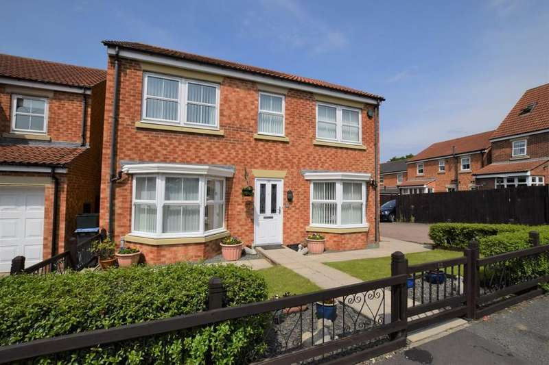 4 Bedrooms Detached House for sale in Murray Park, Stanley, Co. Durham