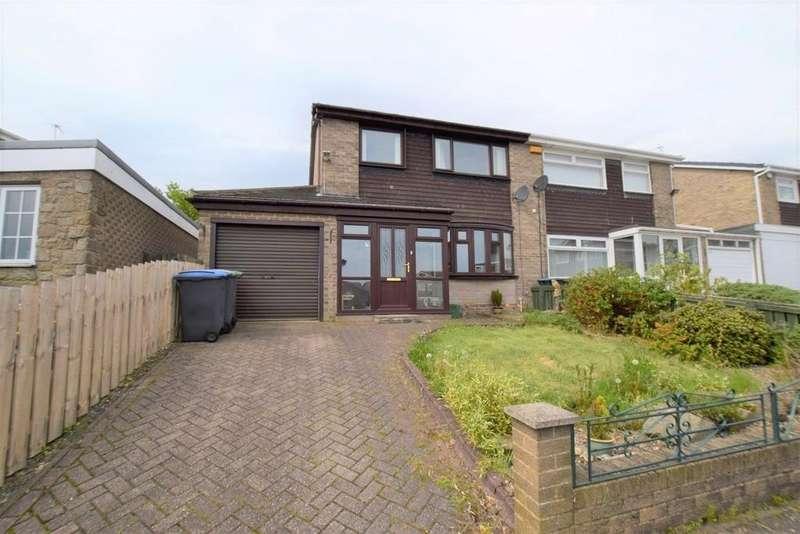 3 Bedrooms Semi Detached House for sale in Westhills, Tantobie, Stanley