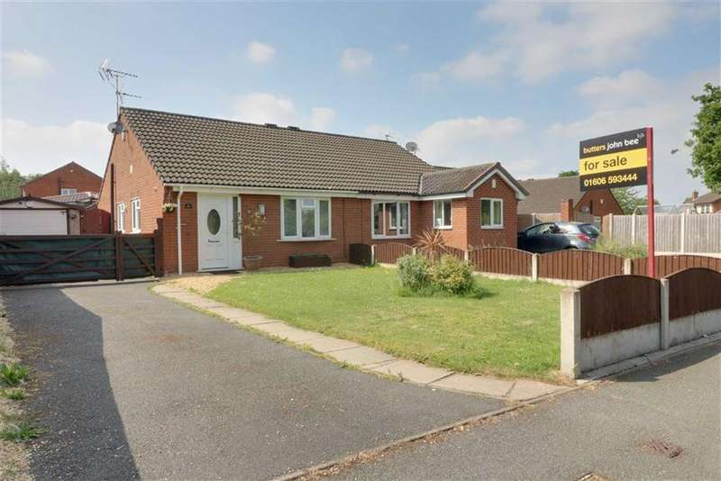 2 Bedrooms Semi Detached Bungalow for sale in Grange Lane, Winsford, Cheshire