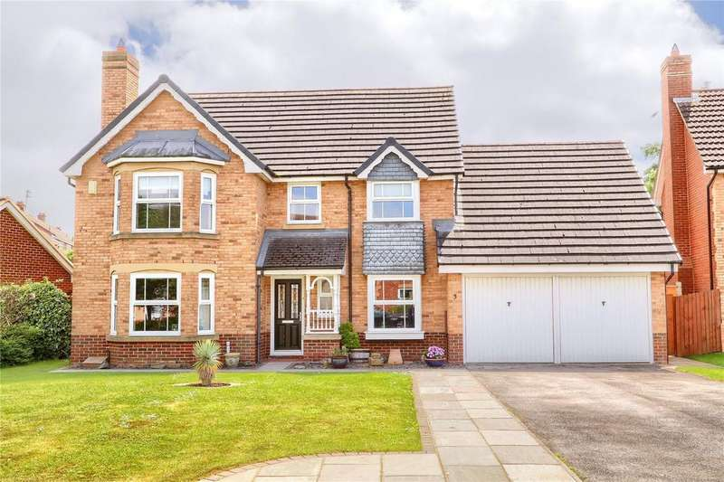 4 Bedrooms Detached House for sale in Sadler Drive, Marton