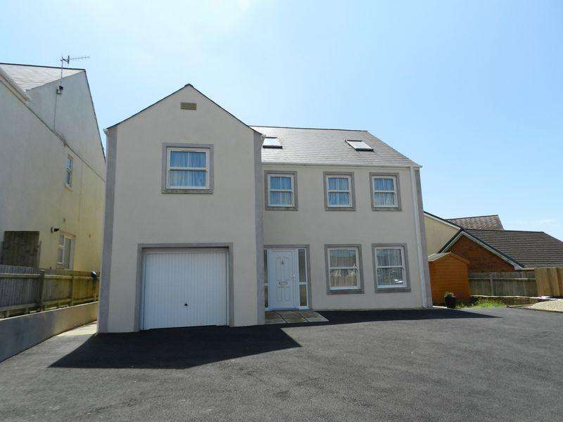 4 Bedrooms Detached House for sale in Vicarage Row High Street Kenfig Hill Bridgend CF33 6FE