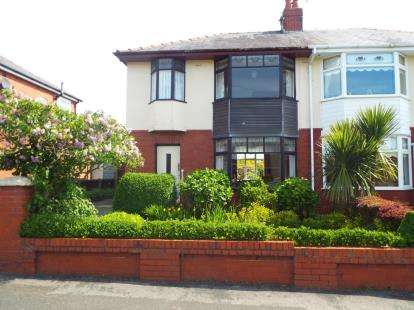 3 Bedrooms Semi Detached House for sale in Hillcrest Avenue, Ingol, Preston, Lancashire, PR2