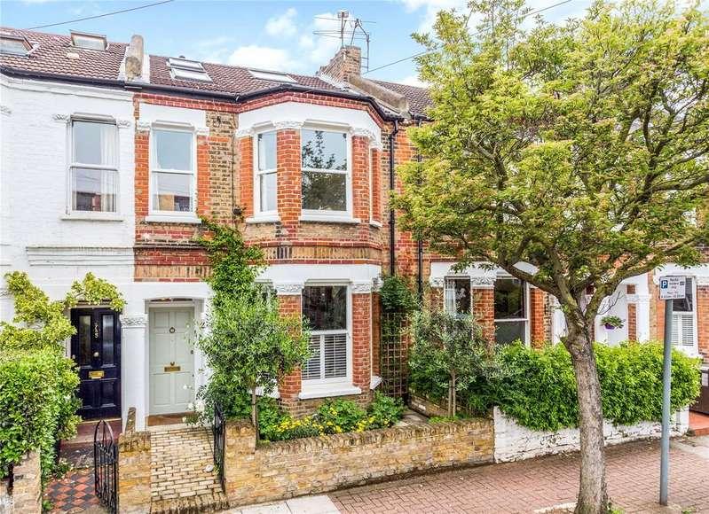 4 Bedrooms Terraced House for sale in Erpingham Road, Putney, London, SW15