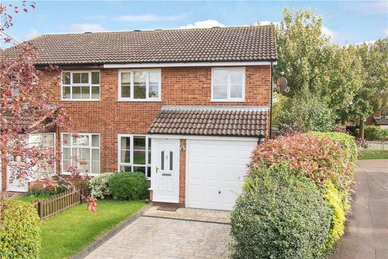 2 Bedrooms Semi Detached House for sale in Hamble Road, Bedford, Bedfordshire