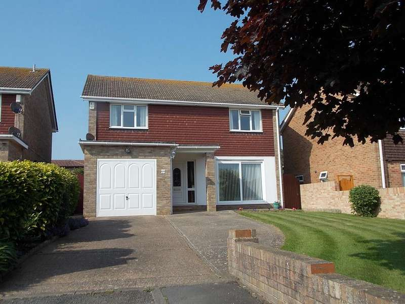 4 Bedrooms Detached House for sale in Glynn Road West, Peachaven, East Sussex