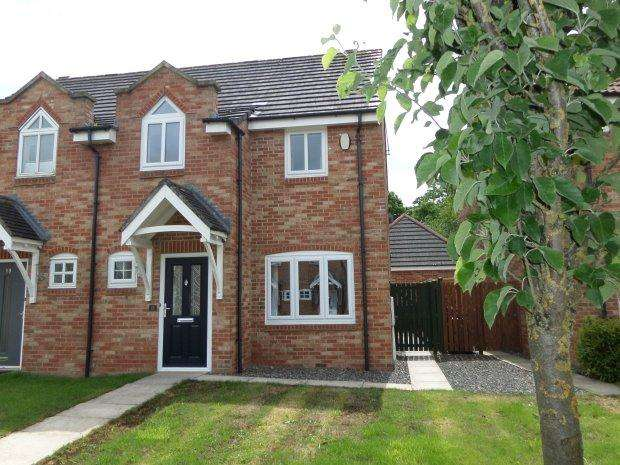 3 Bedrooms Semi Detached House for sale in TURNPIKE WALK, SEDGEFIELD, SEDGEFIELD DISTRICT