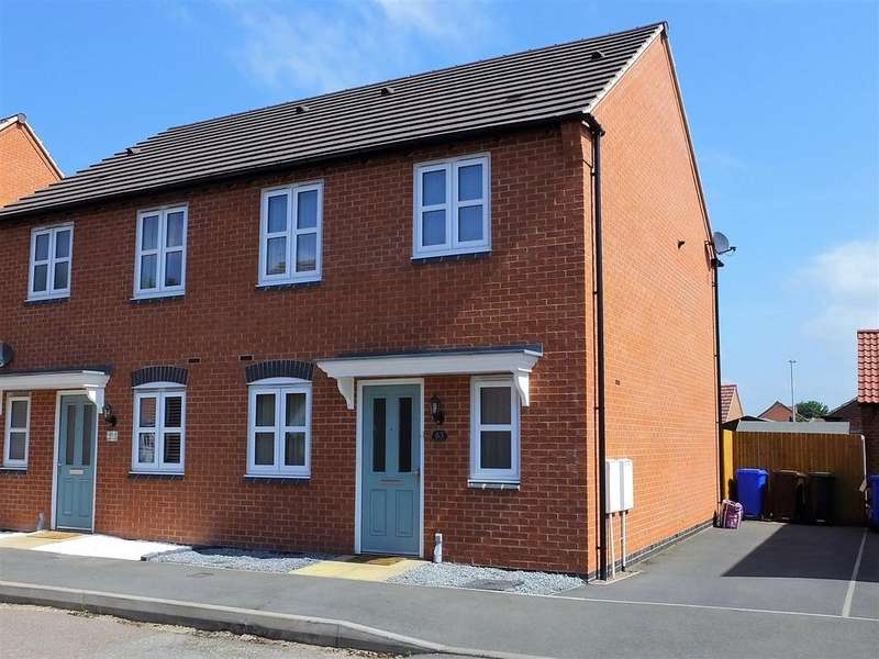 3 Bedrooms Semi Detached House for sale in Perle Road, Burton-On-Trent