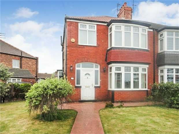 3 Bedrooms Semi Detached House for sale in Tyne Road, Redcar, North Yorkshire