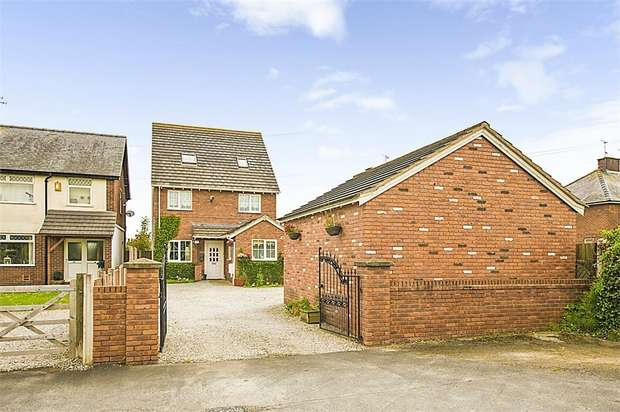 4 Bedrooms Detached House for sale in Main Road, Broughton, Chester, Flintshire