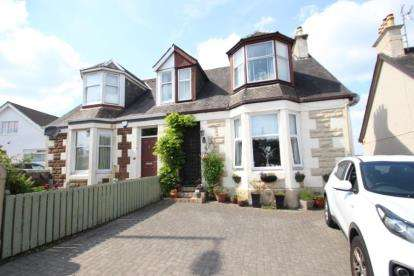 3 Bedrooms Semi Detached House for sale in Stevenston Road, Kilwinning, North Ayrshire