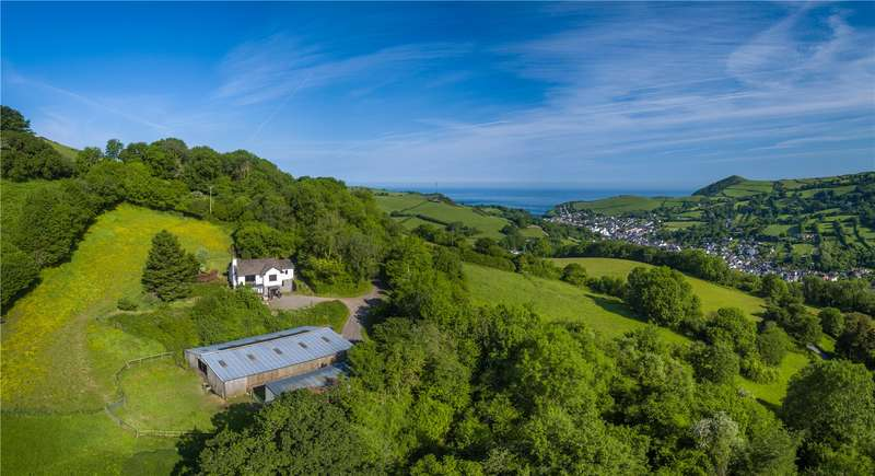 3 Bedrooms Detached House for sale in Rectory Road, Combe Martin, Ilfracombe, Devon, EX34